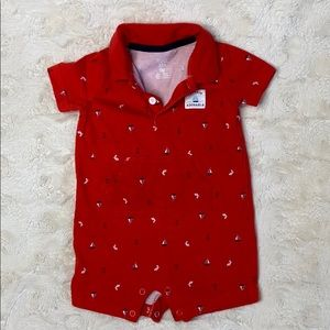 Perfect condition Carter's 9 month onesie!